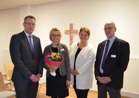 Christian Germing, Birgit Leuderalbert, Julia Hayck und Norbert Falke